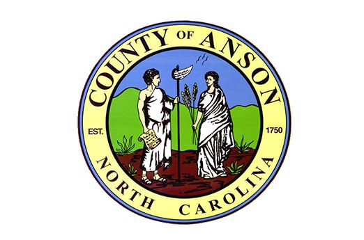 County of Anson North Carolina establish 1750
