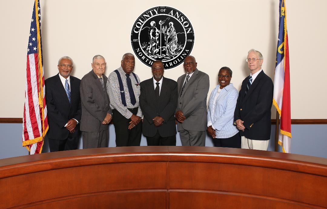 Group Picture of Anson County Commissioners
